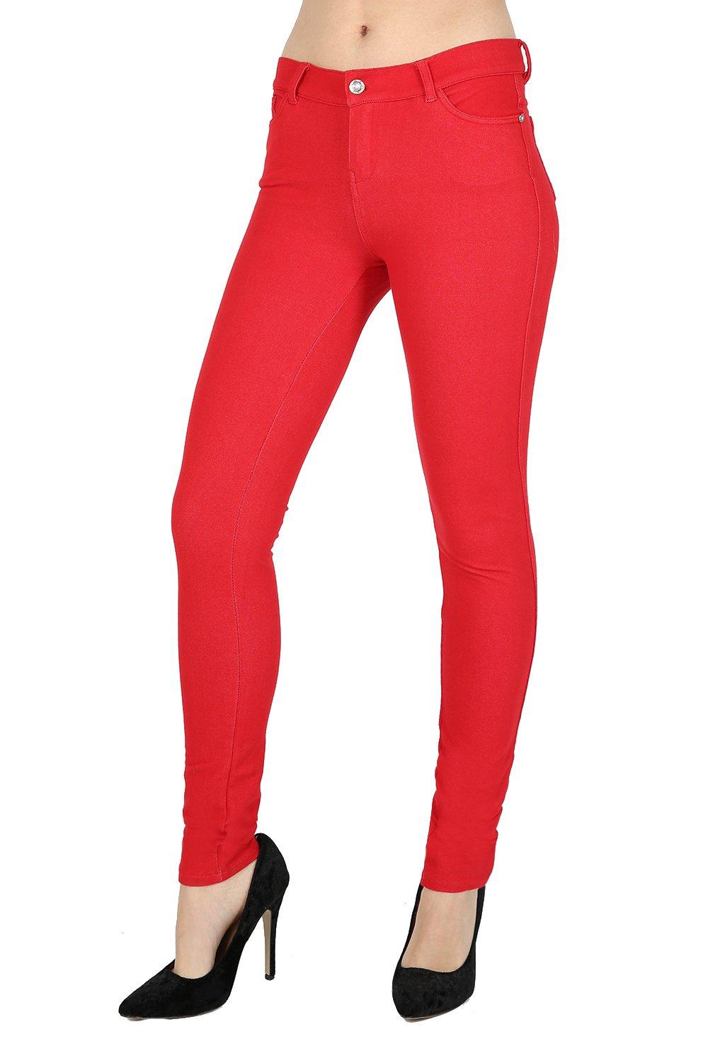 Fashion Instyle Skinny Womens Jeans Stretchy Jeggings Ladies New Fit Coloured Trousers