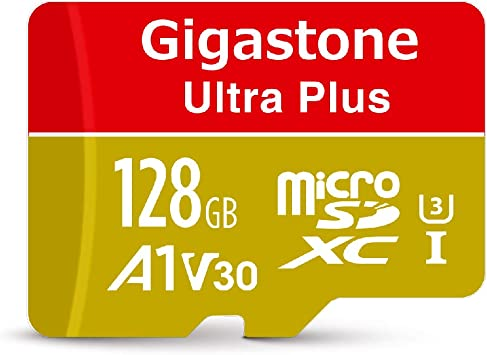 Gigastone 128GB Micro SD Card, A1 V30 Run App for Smartphone, UHD 4K Video Recording, High speed 4K Gaming 100MB/s, Micro SDXC UHS-I U3 C10 Class 10 ...