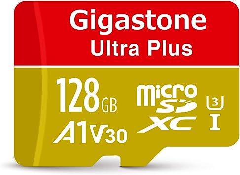 Gigastone 128GB Micro SD Card, A1 V30 Run App for Smartphone, UHD 4K Video Recording, High speed 4K Gaming 100MB/s, Micro SDXC UHS-I U3 C10 Class 10 ...