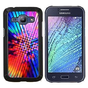 For Samsung Galaxy J1 J100 Case , Diseño Fiesta de neón- Diseño Patrón Teléfono Caso Cubierta Case Bumper Duro Protección Case Cover Funda