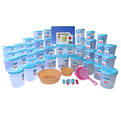 Chetan All In One Kitchen Set  Pieces Blue Color