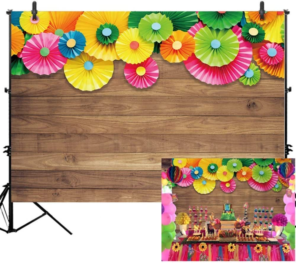 Edcott 7x5ft Mexiko Fiesta Thema Fotografie Hintergrund Kamera