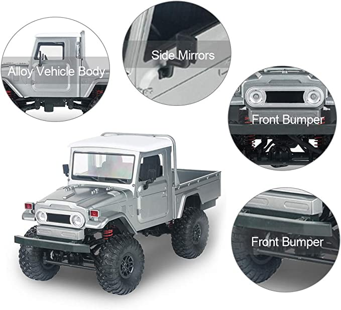MN-45 RC Crawler 2.4G 4WD Racing Off-Road Truck RC Car High Speed Electric Toy