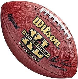 Amazon.com: Super Bowl 40 Football Seahawks vs Steelers