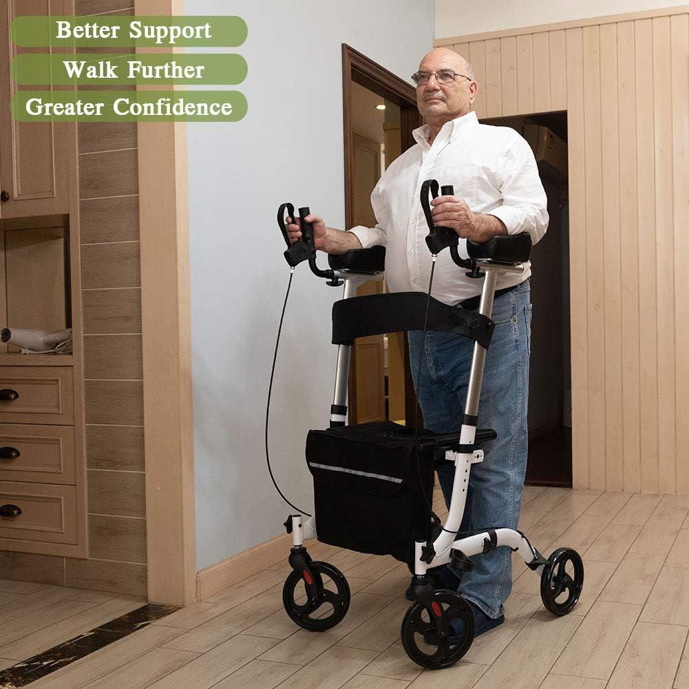 Amazon.com: BEYOUR WALKER - Andador vertical con ruedas ...