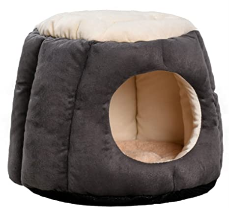 8cc9381b065b Beskie Pet Tent Cave Bed for Small Medium Large Dogs Cats Pets Puppy  Removable Cushion Sleeping