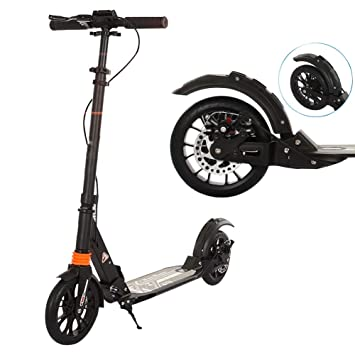 Patinetes Big Wheel City Kick Scooter con Doble suspensión ...