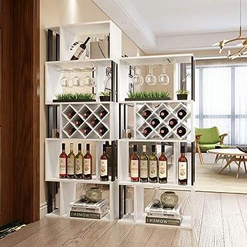 WI Estante para vinos, comedor, estante para vinos, estante ...