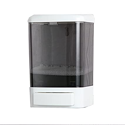 GreeSuit Manual Soap Dispenser Plastic Wall Mounted Shampoo Conditioner  Shower Gel Chamber Dispenser Soap Pump For