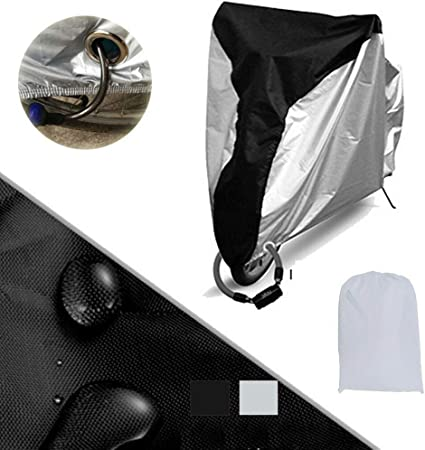 M Size Waterproof Bicycle Cover Outdoor Rain//Sun Protector for  Bikes Dustproof