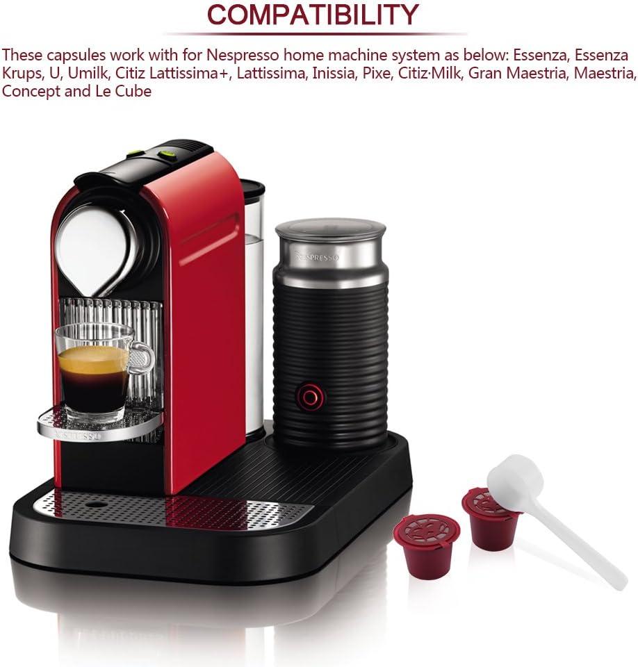 Amazon.com: Reutilizable cápsulas de Nespresso ddsky ...