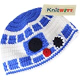 Knitwits Blue Droid Crochet Beanie