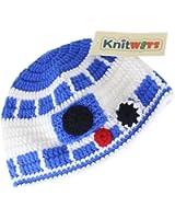 Knitwits R2D2 Crochet Beanie