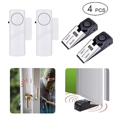 Amazon.com : Door Stopper & Wireless Security Door Window ...
