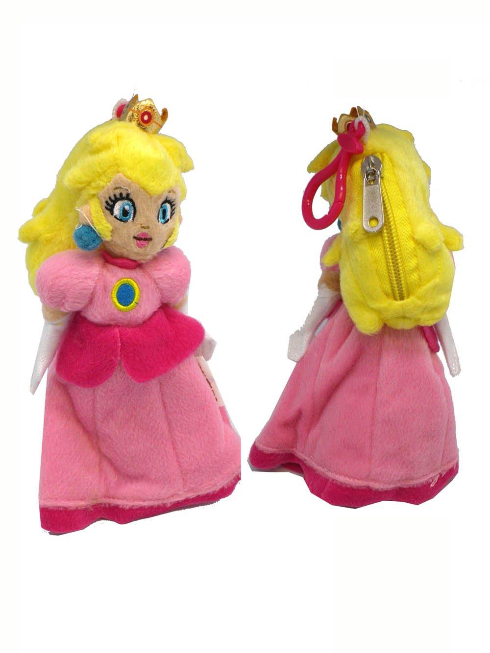 Princess Peach peluche llavero - Super Mario Character ...