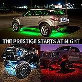 4 pcs Mihaz Upgraded LED Car Underglow Underbody