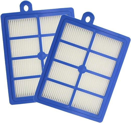 WuYan 2 piezas de repuesto de filtro HEPA para aspiradora Electrolux lavable H12 EL4100 EL6986A EL4050 ZE346B ZUA3840P ZTI7635: Amazon.es: Hogar