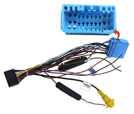 61PdVD77QgL._SX463_ amazon com joying jy c hu universal wiring harness cable for Universal Wiring Harness Diagram at edmiracle.co