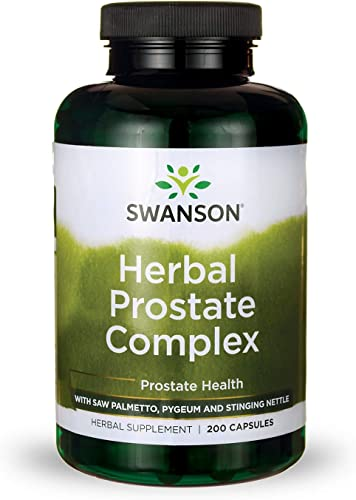 Swanson Herbal Prostate Complex Urinary Tract Support Men s Health Supplement 200 Capsules Caps