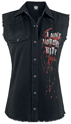 The Walking Dead Daryl Dixon - Wings Chaleco Mujer Negro