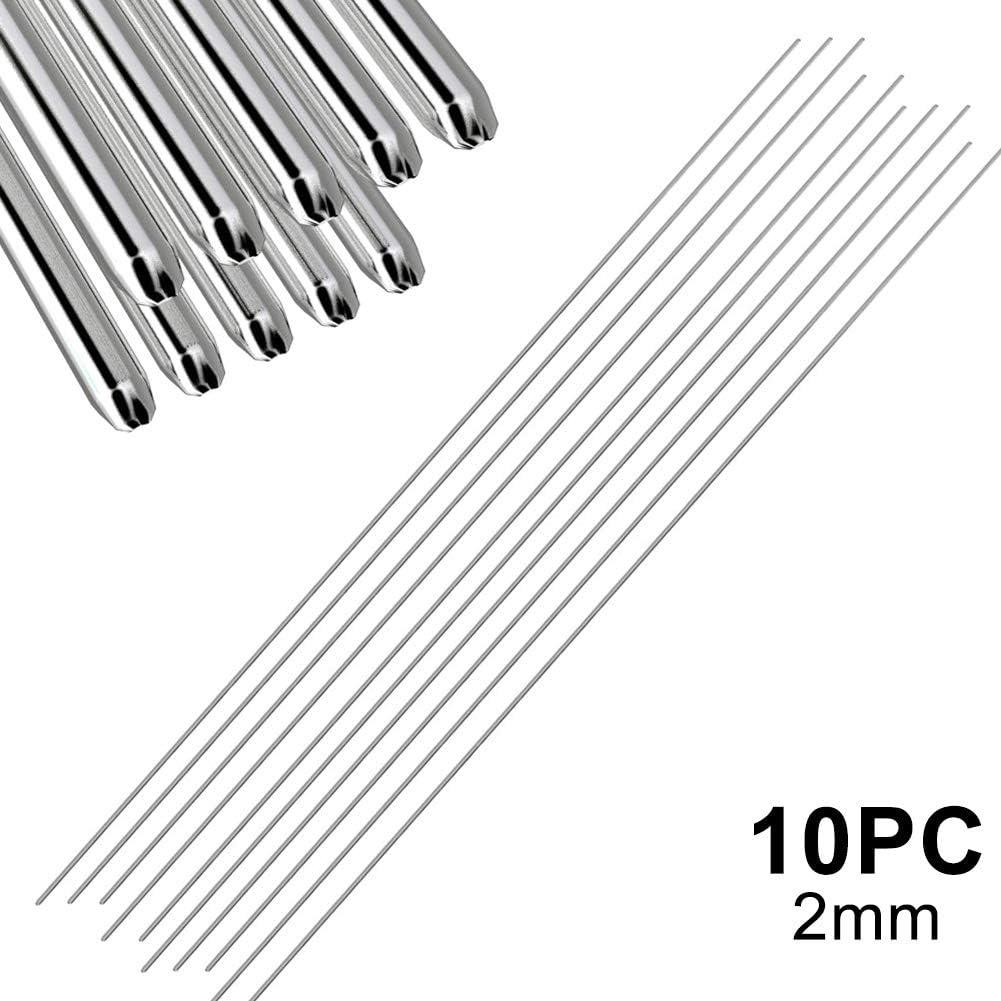 50 St/ück Vaugan Schwei/ßst/äbe aus Aluminium 5//10 // 20 10pc 1,6mm niedrige Temperatur 1,6 mm // 2 mm kein L/ötpulver n/ötig