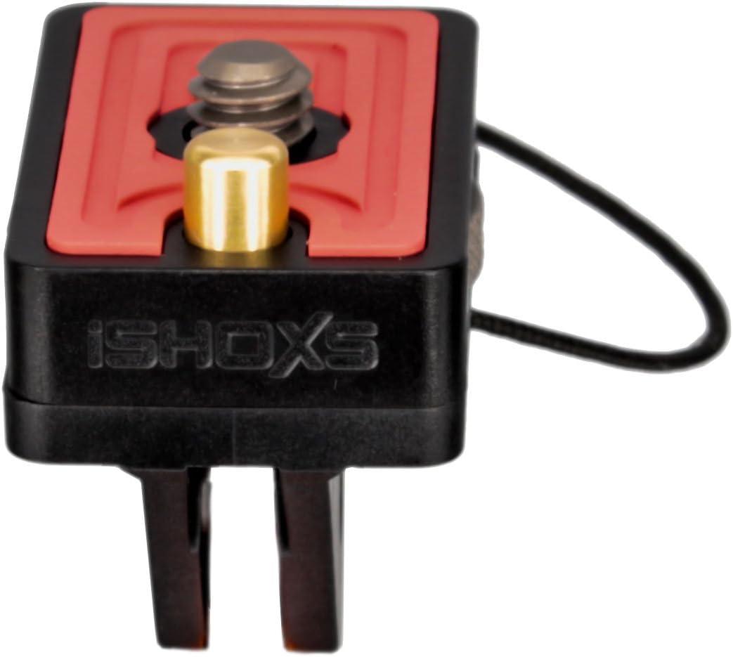 iSHOXS ProFork Stativ Adapter mit VideoPin Passend f/ür alle Ger/äte mit 1//4 Gewindeanschlu/ß und Bohrung f/ür Videopin