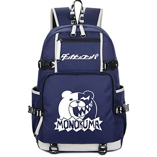 9755d3271e Image Unavailable. Image not available for. Color  Gumstyle Danganronpa  Luminous Backpack Anime Book Bag Casual School Bag