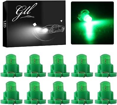 10Pcs 12V T3 Indicator Light Panel Bulb COB Wedge LED Instrument Dashboard Lamp