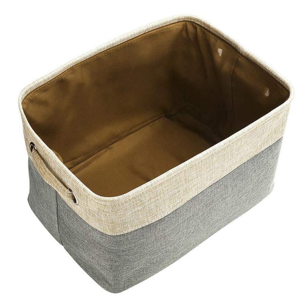 Paquete De 3 Gran Caja De Almacenamiento Rectangular Guarder/ía dewdropy Juego De Bolsas De Almacenamiento Grande Organizador Plegable con Asas para El Cuarto De Los Ni/ños