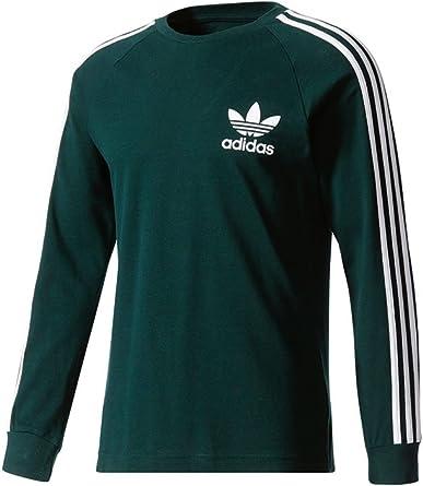 adidas LS Pique tee Camiseta Hombre