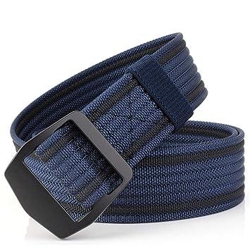 ZheTianmios Cinturón de Pantalones Vaqueros de los Hombres Tactical Gear  Lona Cintura Correa Ejército Cinturón Cinturón de Nylon elástico al Aire  Libre 06 ... 0bdda3e45008
