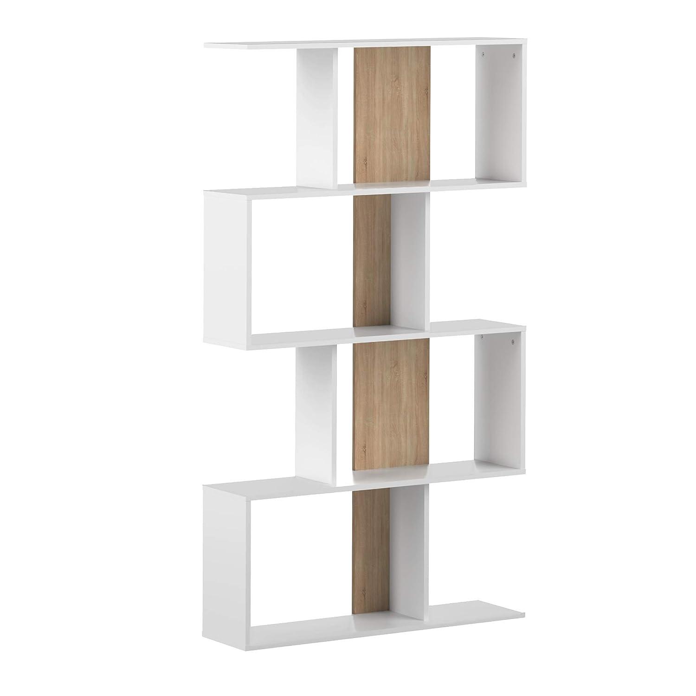 Movian Ercina blanco 89 x 25 x 165/cm Librer/ía largo x ancho x alto