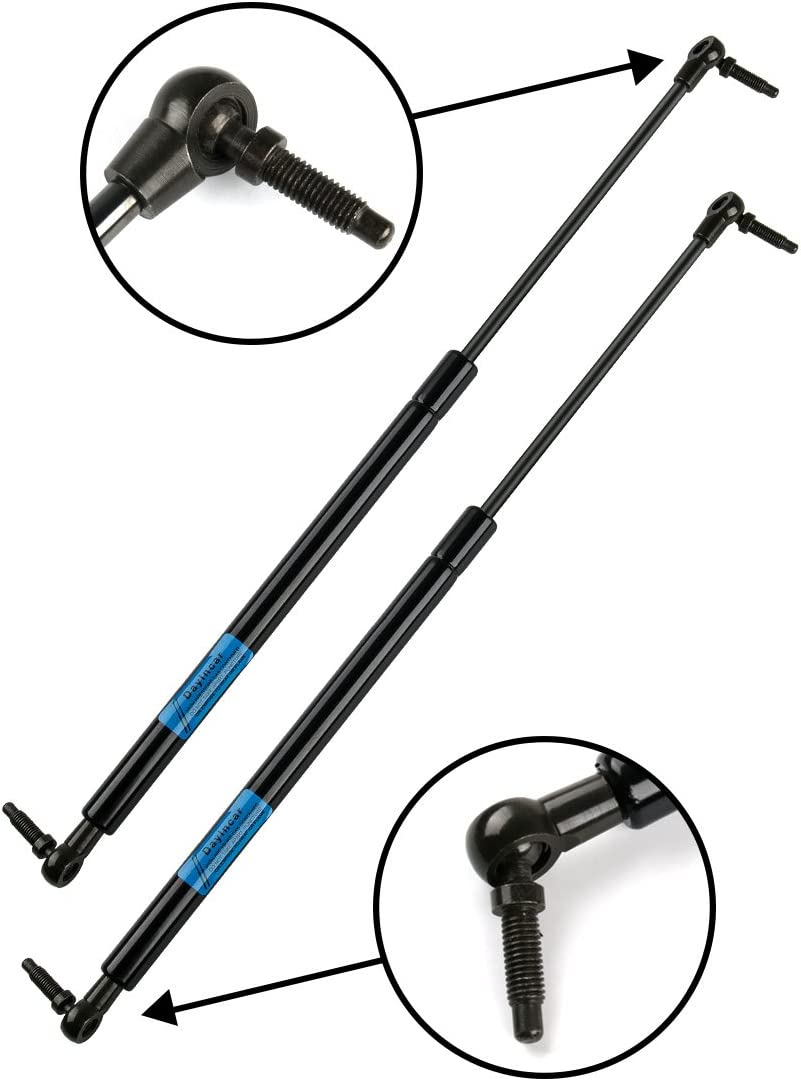 2 REAR TRUNK LIFTGATE TAILGATE HATCH LIFT SUPPORTS SHOCKS STRUTS W FLIP WINDOW