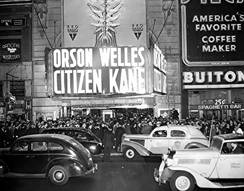 New York Rko Palace 1941 Nthe World Premiere Of Citizen Kane At The Rko Palace Broadway New York City 1941 Poster Print by (18 x 24)