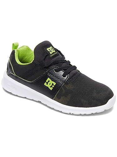6c4b774342 Amazon.com | DC Youth Heathrow TX SE Textile Trainers | Shoes