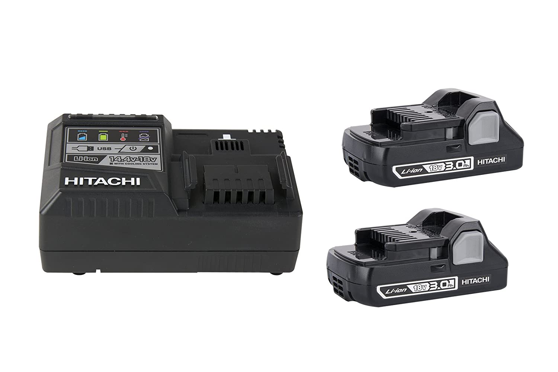 Hitachi 339782 Compact 18V 3.0 Amp Hour Lithium-Ion Slide Style ...