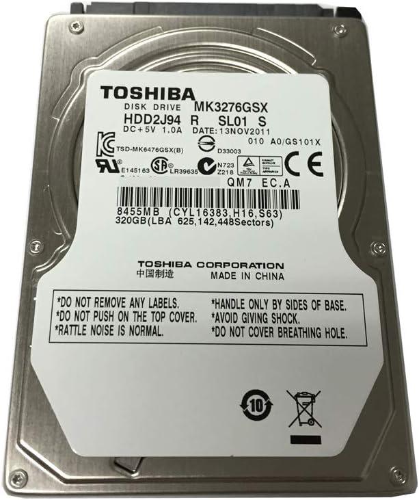 Toshiba MK1676GSX - Disco Duro Interno de 160 GB (5400 RPM, SATA ...