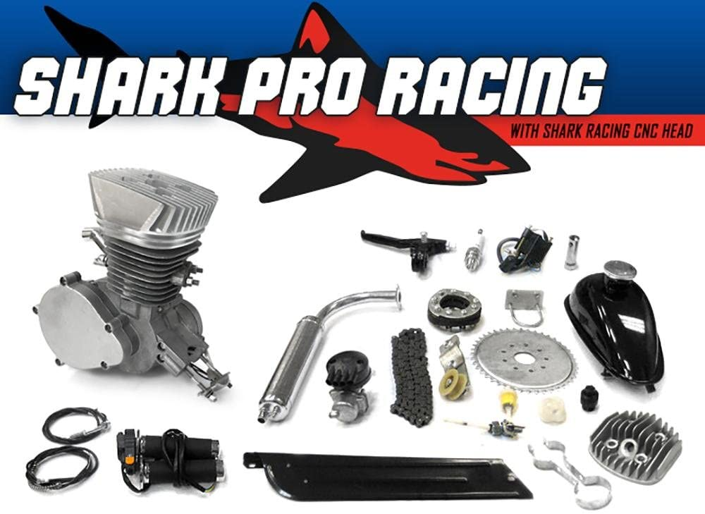 Shark Pro Racing 自転車エンジンキット 66cc/80cc