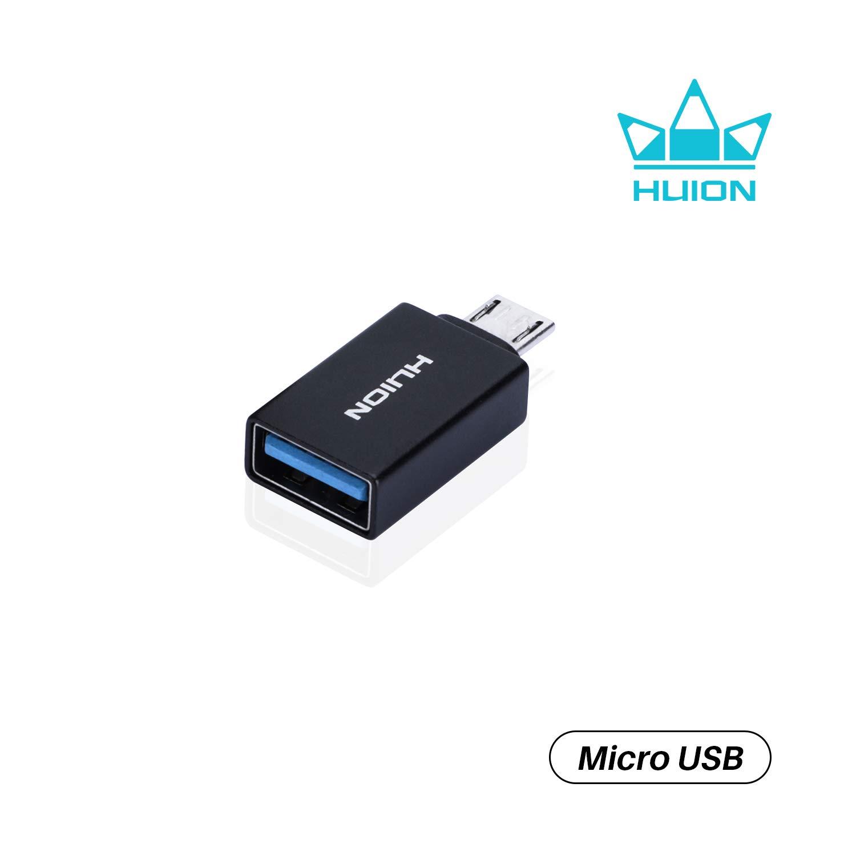 Conector OTG Micro USB para Huion