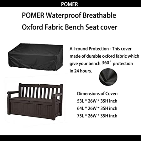 Loveseat Bench Cover Durable and Waterproof Outdoor Furniture Sofa Covers Onlyme Patio Chair