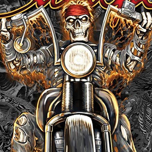 Official 2019 Sturgis Motorcycle Rally #1 Design Wild West T-Shirt (BLACK Large)