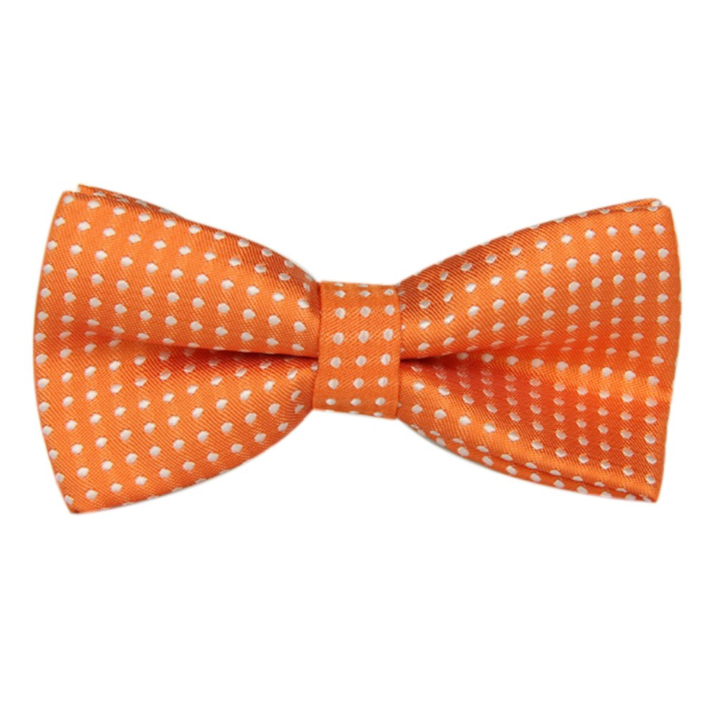 Boys Girls Baby Children Solid Color Satin Bow Ties Bowtie Red
