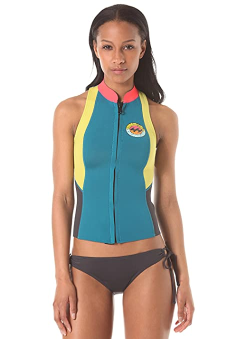 ... db7ab 2016 Billabong Salty Dayz 1mm Neoprene Vest MALDIVE W41G03 Ladies  UK Sizes  the latest 570d6 02709 Billabong Womens Salty Dayz 32mm Chest Zip  ... f14e25522