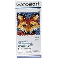 WonderArt - Juego de Ganchos para Cerrojo, Mr. Fox 8 X 8, Mr. Fox 8 x 8, 1