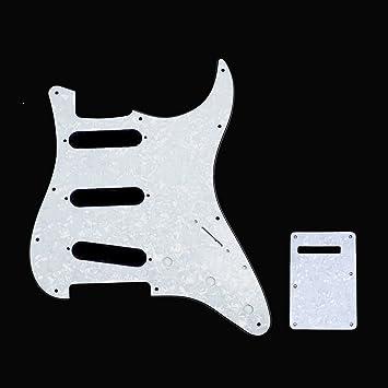 Amazon.com: Juego de carcasa para guitarra eléctrica ...
