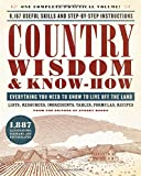 img - for Country Wisdom & Know-How: Everything You Need to Know to Live Off the Land book / textbook / text book