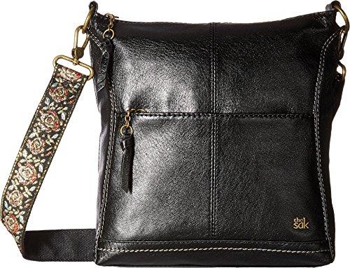 The Sak Lucia Crossbody  Black Floral Strap