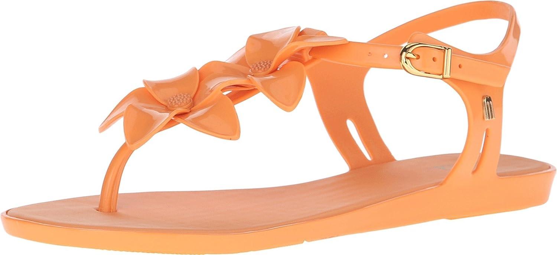 4ef8dcc35f34 Melissa Shoes Women s Solar Garden II Dark Orange Sandal 5 M  Buy Online at  Low Prices in India - Amazon.in