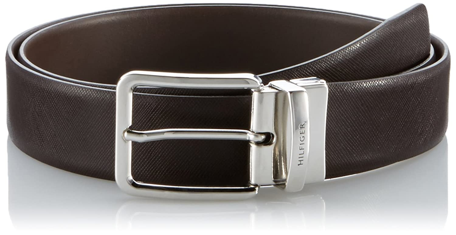 Tommy Hilfiger Tailored Herren Gürtel Hayley Reversible Belt