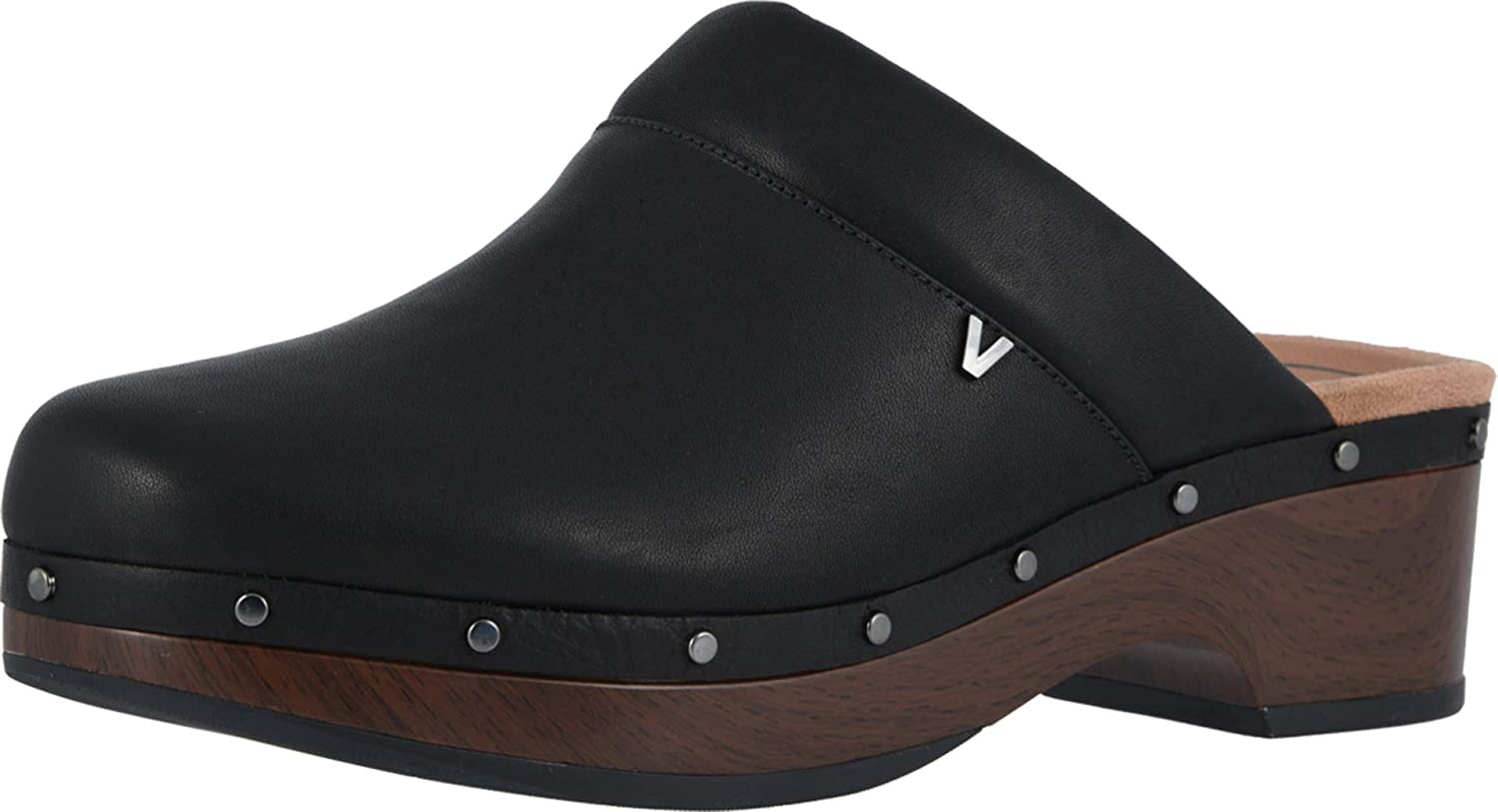 Vionic Women's Day Kacie Clog - Ladies Slip-on Mule with Concealed Orthotic Arch Support